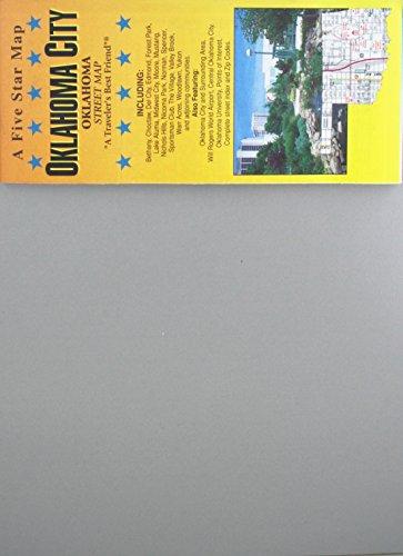 Oklahoma City : Oklahoma : street map: Five Star Maps