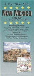 New Mexico : road map: Five Star Maps