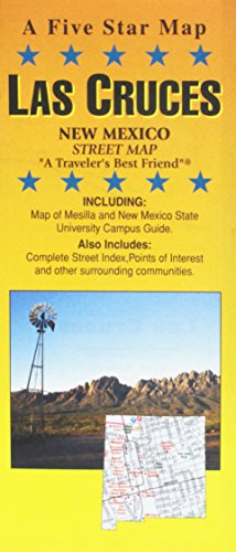 9781592141562: Las Cruces, NM Street Map