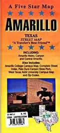 Amarillo, TX: Five Star Maps