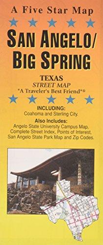 San Angelo/Big Spring, TX: Five Star Maps
