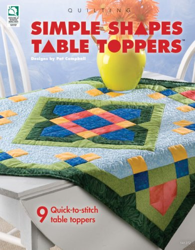 9781592171774: Simple Shapes Table Toppers