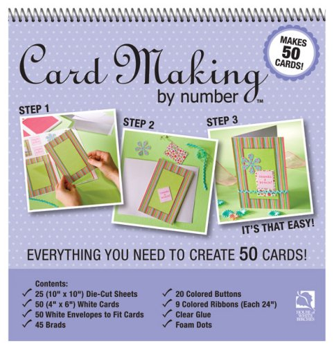9781592172092: Card Making by Number: Everything You Need to Know Create 50 Cards