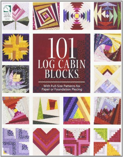 9781592173358: 101 Log Cabin Blocks