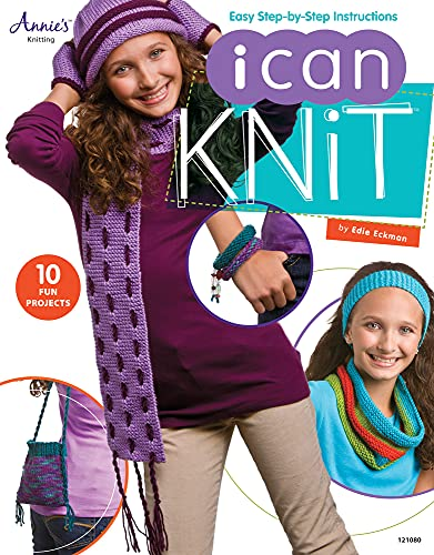 I Can Knit (159217440X) by Edie Eckman