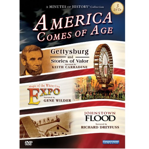 9781592180295: America Comes of Age - A Minutes of History Collection 3 DVD Box Set
