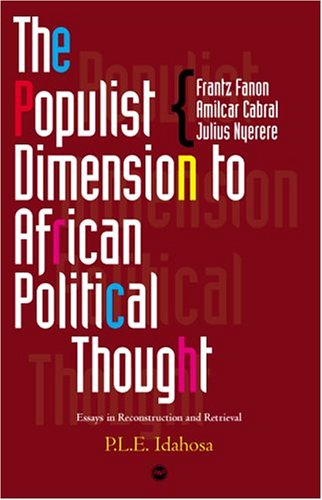 9781592211005: The Populist Dimension to African Political Thought: Critical Essays in Reconstruction and Retrieval