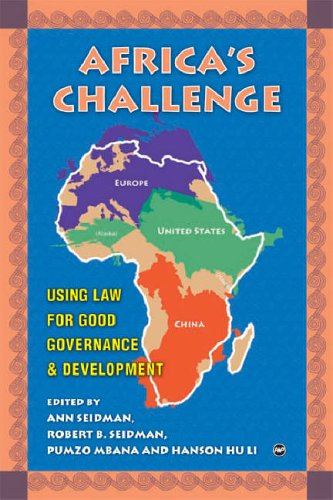 9781592214716: Africa's Challenge: Using Law for Good Governance And Development