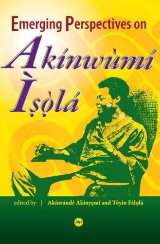 9781592216093: Emerging Perspectives on Akinwumi Isola