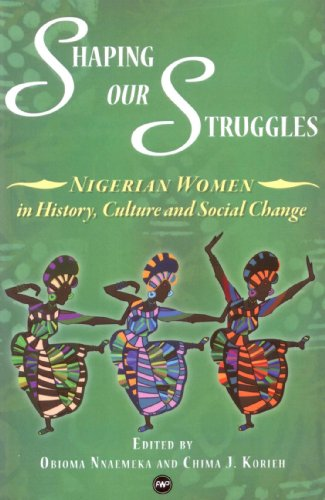 Shaping Our Struggles: Nigerian Women in History, Culture ans Social Change: Obioma Nnaemeka