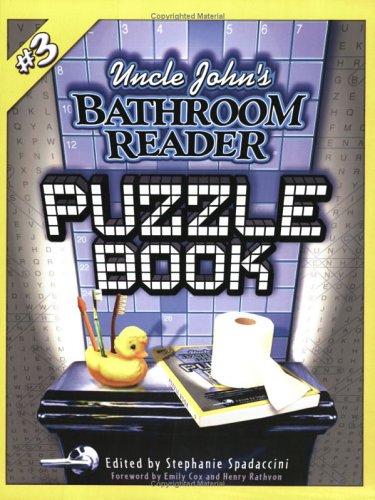 9781592233229: Uncle John's Bathroom Reader Puzzle Book #3 (Uncle John's Bathroom Readers)