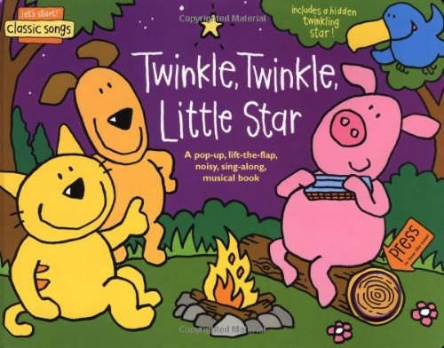 9781592233571: Let's Start! Classic Songs: Twinkle, Twinkle, Little Star: A Pop-Up, Lift-the-Flap, Noisy, Sing-Along, Musical Book