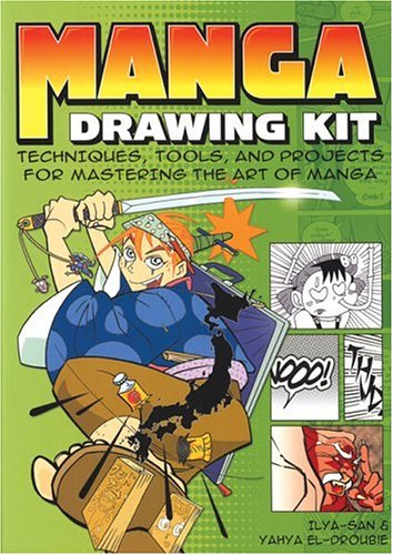 9781592235117: Manga Drawing Kit: Techniques, Tools, and Projects for Mastering the Art of Manga