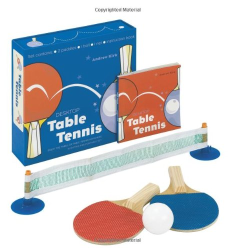 9781592236107: Desktop Table Tennis