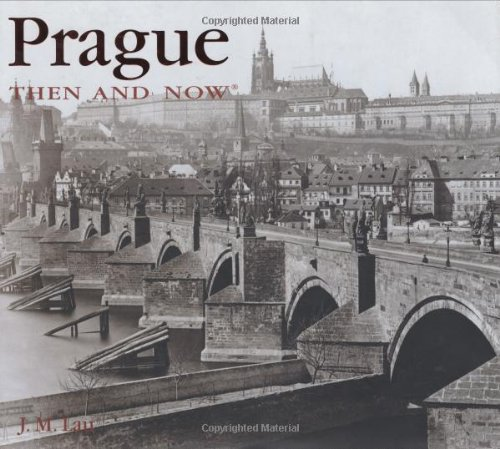 9781592236565: Prague Then & Now