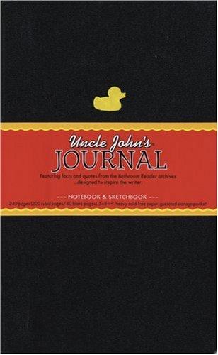 9781592236831: Uncle John's Journal: Notebook and Sketchbook