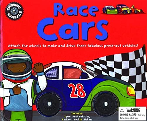 9781592237715: Spinning Wheels: Race Cars