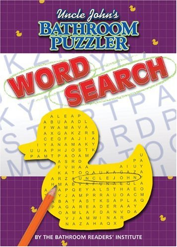 9781592238835: Uncle John's Bathroom Puzzler: Word Search