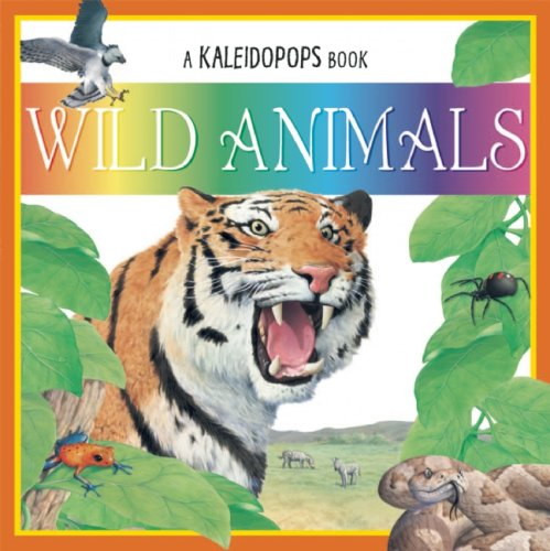 Wild Animals (A Kaleidopops Book): Martin, Ruth