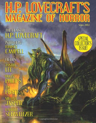 9781592241477: H.P. Lovecraft's Magazine of Horror #1: Book Edition: No.1