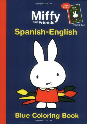 9781592260966: Miffy and Friends: Blue Coloring Book: Spanish-English