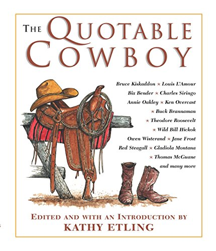 9781592283545: The Quotable Cowboy