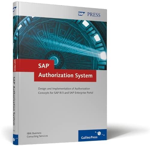 9781592290161: SAP Authorization System: Design and Implementation of Authorization concepts for SAP R/3 and SAP Enterprise Portal