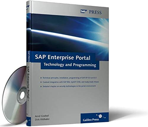 9781592290185: SAP Enterprise Portal: Technology and Programming