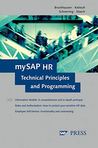 9781592290215: mySAP HR Technical Principles and Programming