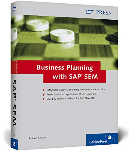 9781592290338: Business Planning with SAP SEM: Operational and Strategic Planning with SEM-BPS