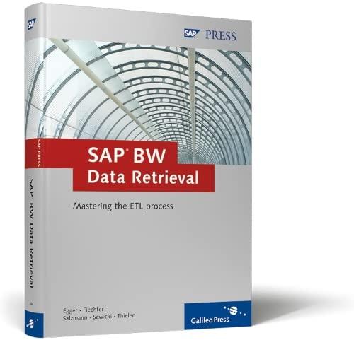 9781592290444: SAP BW Data Retrieval: Mastering the ETL process