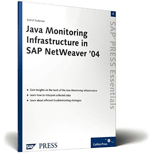 Java Monitoring Infrastructure in SAP NetWeaver '04: Astrid Tschense-Oesterle
