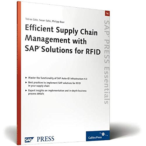 9781592290819: Efficient Supply Chain Management with SAP Solutions for RFID: SAP PRESS Essentials 14