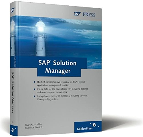 SAP Solution Manager: Schäfer, Marc O.;