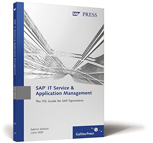 9781592290949: SAP IT Service & Application Management: The ITIL Guide for SAP Operations