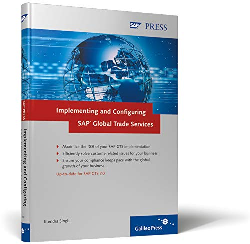 9781592290963: Implementing and Configuring SAP Global Trade Services: Configure and fully utilize SAP GTS