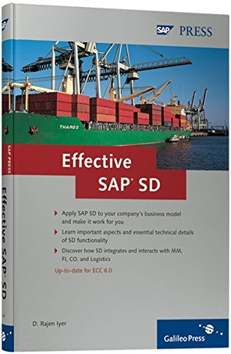 9781592291014: Effective SAP SD: Get the Most Out of Your SAP SD Implementation