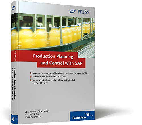 9781592291069: Production Planning and Control with SAP: Basic principles, processes, and complete customization details