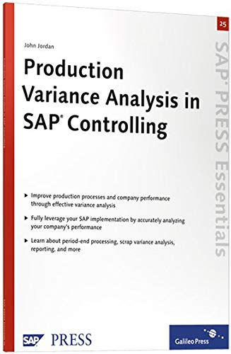 9781592291090: Production Variance Analysis in SAP Controlling: Learn how production variance analysis works in SAP Controlling (CO)