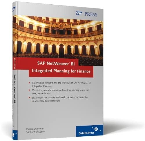 9781592291298: SAP NetWeaver BI Integrated Planning for Finance
