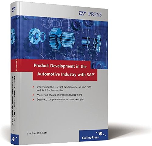 9781592291380: Product Development with SAP in the Automotive Industry