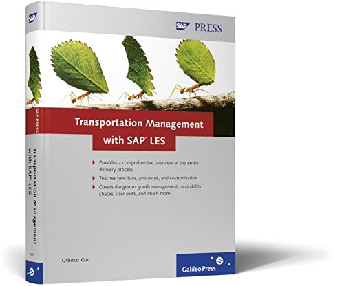 9781592291694: Transportation Management with SAP LES