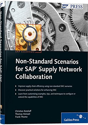 9781592291953: Non-Standard Scenarios for SAP Supply Network Collaboration: SAP PRESS Essentials 43