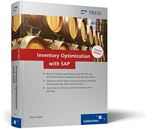 9781592292059: Inventory Optimization with SAP: SAP ERP, SAP SCM, and SAP APO