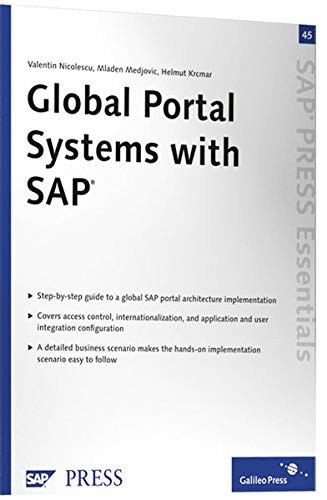 9781592292127: Global Portal Systems with SAP: SAP PRESS Essentials 45