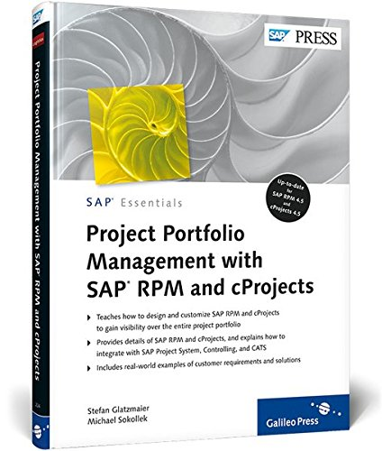 9781592292240: Project Portfolio Management with SAP RPM and cProjects: SAP PRESS Essentials 49