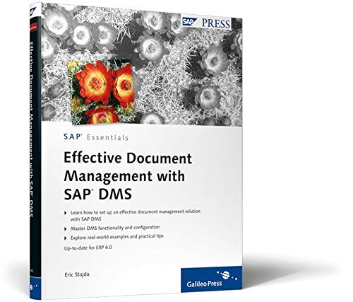 9781592292400: Effective Document Management with SAP DMS