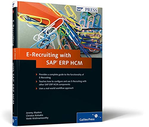 E-Recruiting with SAP ERP HCM: Masters, Jeremy, Kotsakis,