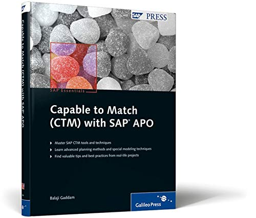 9781592292448: Capable to Match (CTM) with SAP APO