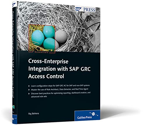 9781592292509: Cross-Enterprise Integration with SAP GRC Access Control: Integrating multiple systems with SAP GRC Access Control